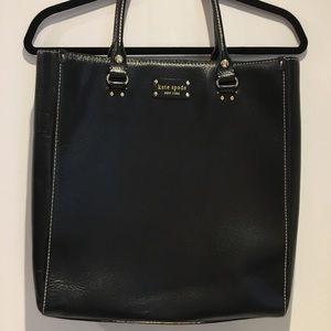 Sturdy Kate ♠️  Spade Black Patent Leather Tote ❤️